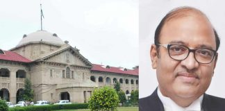 (L-R) Allahabad High Court; chief justice Dilip Babasaheb Bhosale