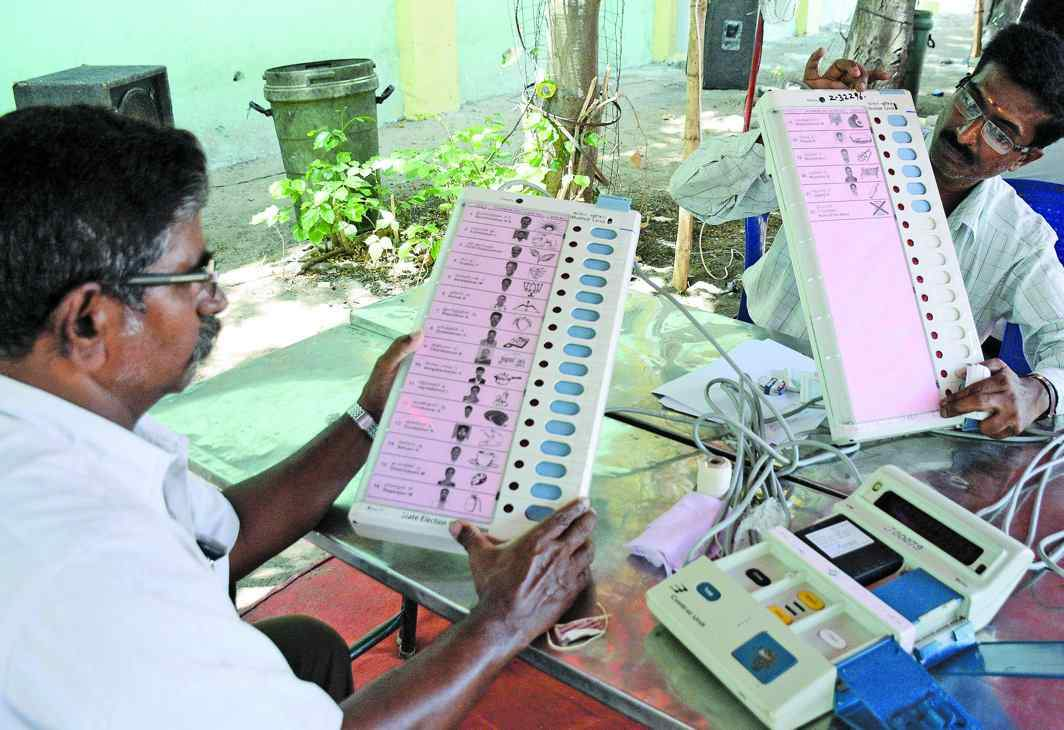 Even if EVMs in India are standalone machines, it has been proved unofficially that these machines are hackable