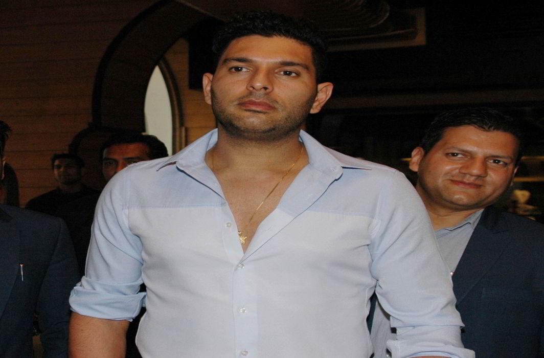 Cricketer Yuvraj Singh. Photo: UNI