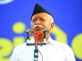 RSS strongman Mohan Bhagwat. Photo: UNI