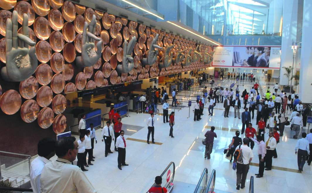 The IGI Airport at New Delhi. Photo: Rajeev Tyagi