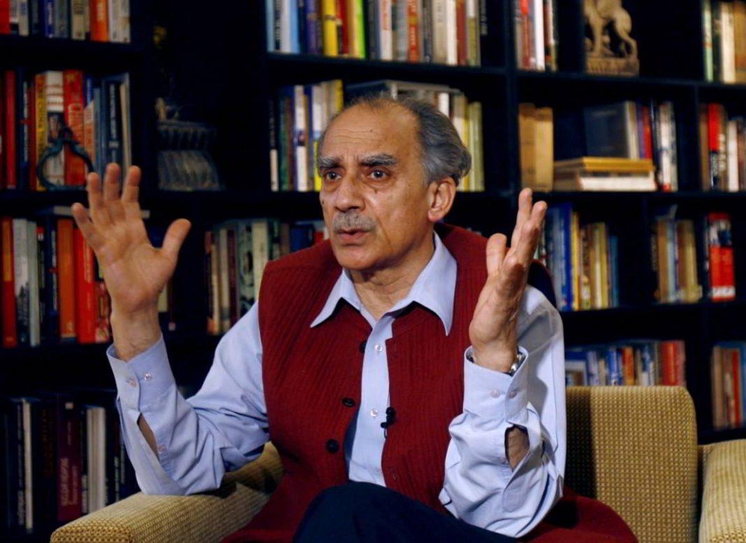 Former BJP minister Arun Shourie