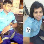 Indian Navy sailor Manish Giri (left), who later became Sabi after the sex-change surgery. Photo: gaylaxymag.com
