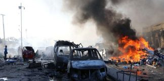 Bombings at Mogadishu has claimed several lives
