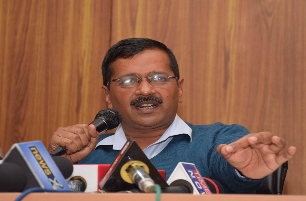 Delhi CM Arvind Kejriwal. Photo: UNI