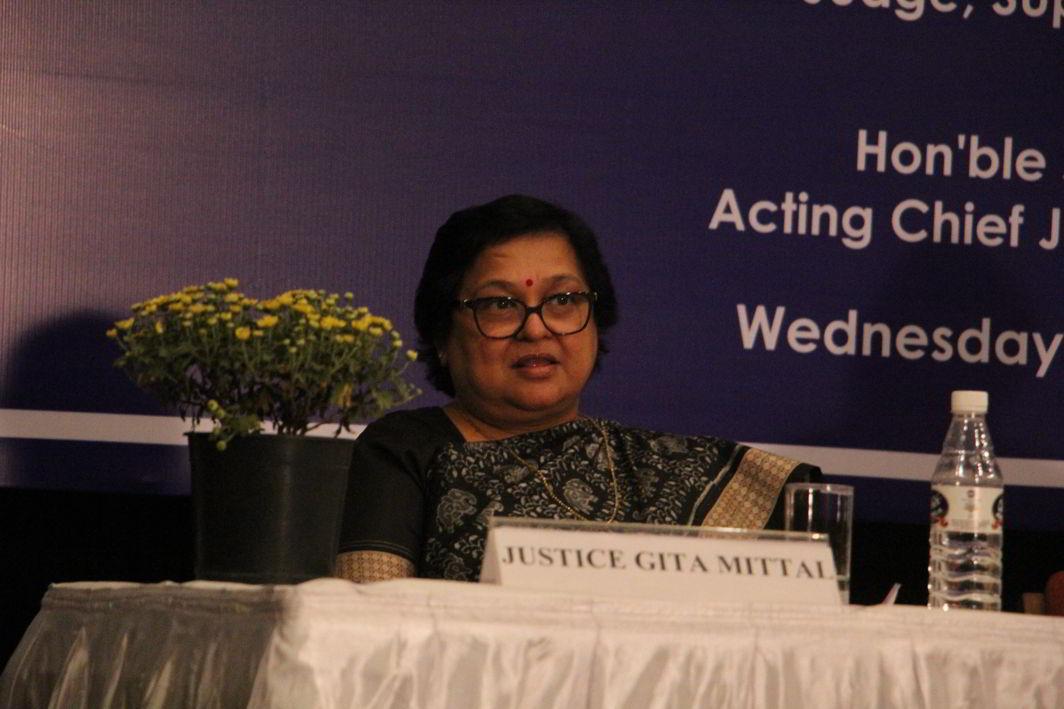 Acting Chief Justice Gita Mittal. Photo: Bhavana Gaur