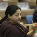 Former Tamil Nadu Chief Minister J Jayalalithaa. Photo: Getty Images
