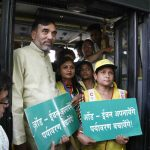 Former Transport Minister Gopal Rai during the second phase of the odd-even scheme rolled in April (file picture). Photo: Anil Shakya