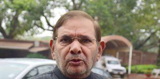 Sharad Yadav (file picture). Photo: UNI