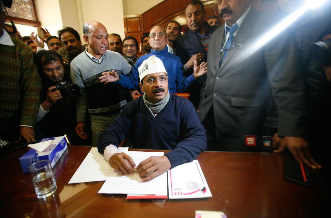 Arvind Kejriwal (file picture).