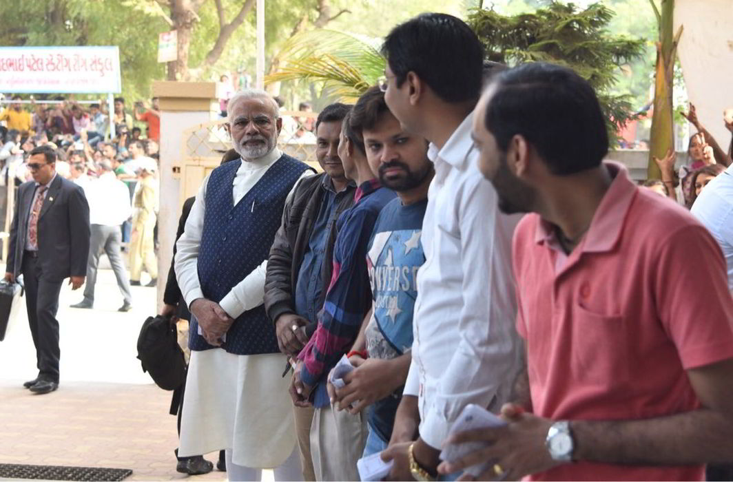 Congress hits out at EC over Modi's roadshow as voting draws to a close in Gujarat