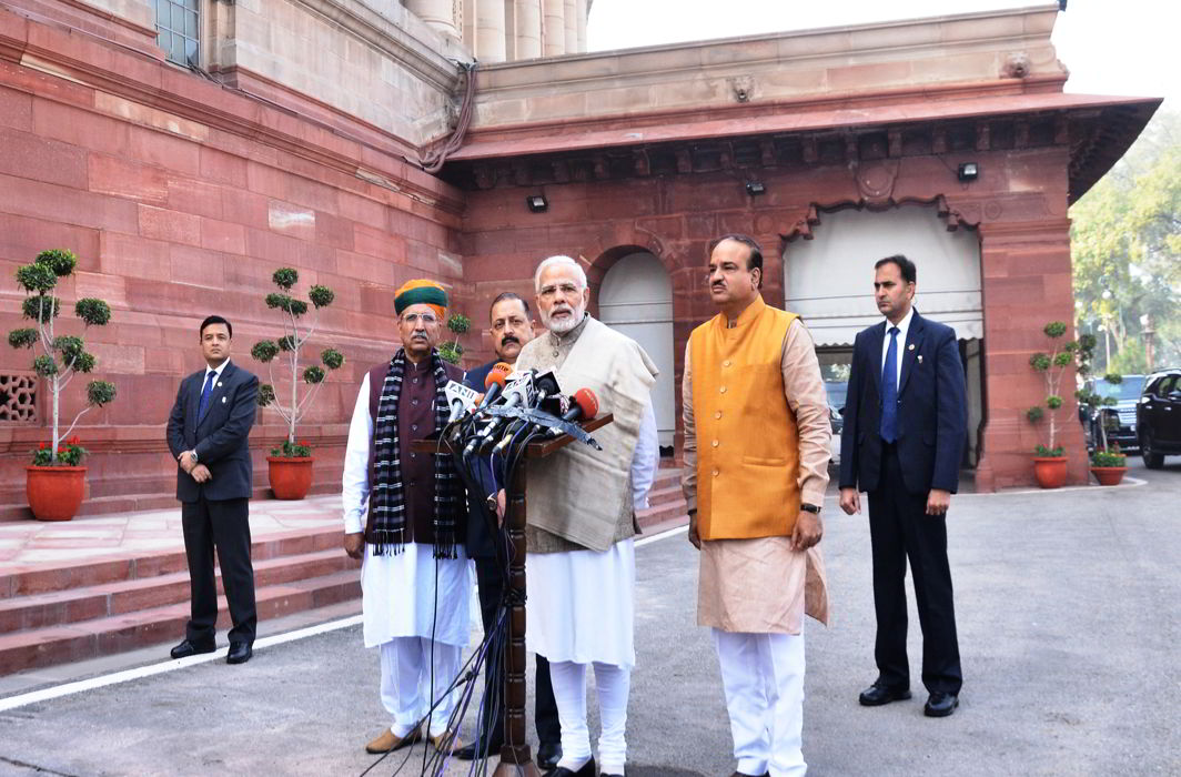 With 40 Bills on agenda, Parliament's winter session commences