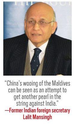 Former Indian foreign secretary Lalit Mansingh