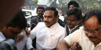 A Raja during the trial at Patiala House Court on Thursday (December 21)