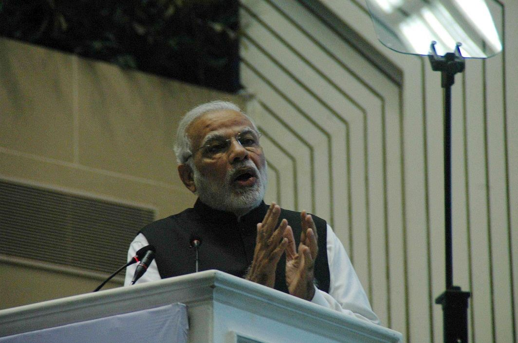 By expropriating words and assigning them fresh meanings, Modi has robbed debates of nuance and silenced voices. Photo: UNI