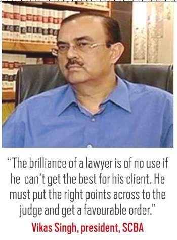 Vikas Singh, president, SCBA