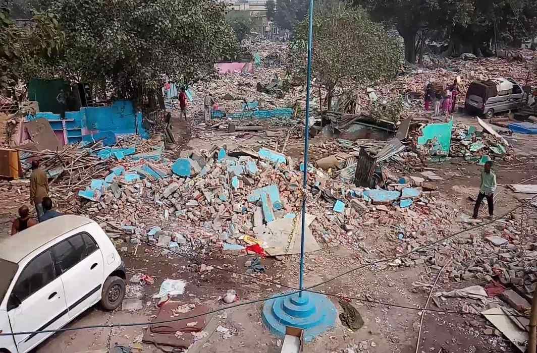 Kathputli Colony demolition: Delhi HC orders DDA to safeguard schoolchildren