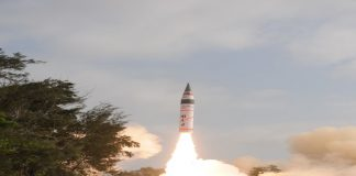 Agni V missile (file picture)/Photo: DRDO