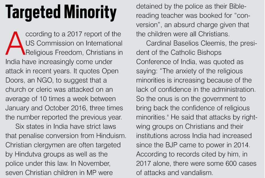 Targeted Minority