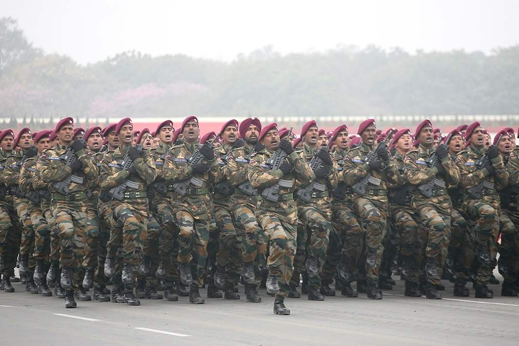 A file photo of the Indian Army's parade. Photo: Anil Shakya