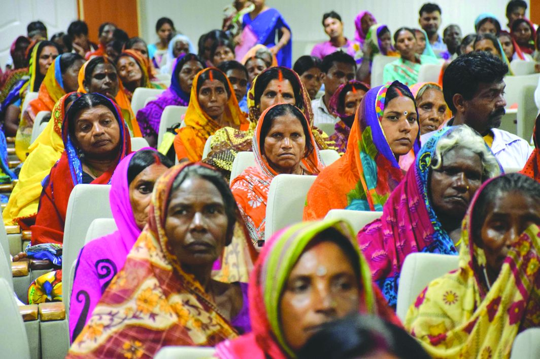A Mahila Mandal in progress in Durgaganj, Uttar Pradesh. Photo: UNI