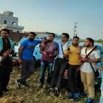 Lahoria group members, comprising mostly youngsters, posing with guns in Jalandhar/Photo: Facebook/Gounder gang