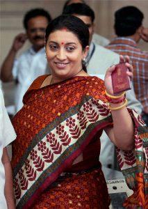 Smriti and the Sari