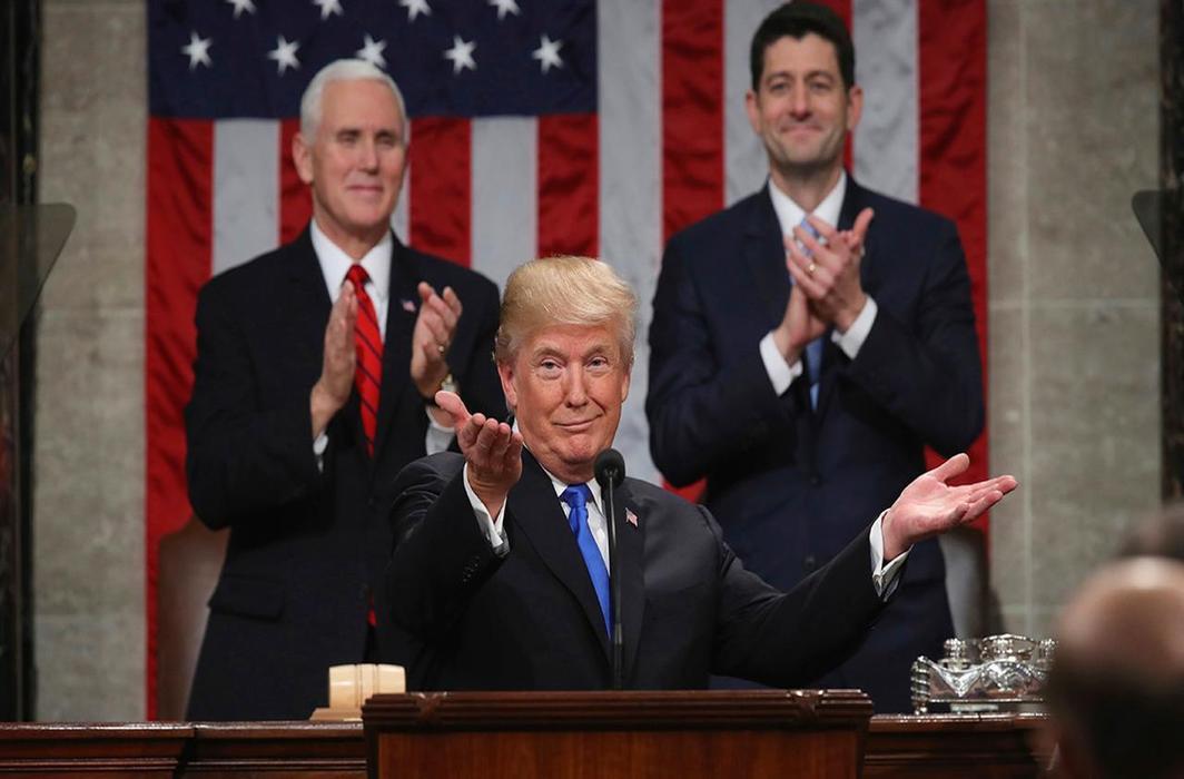 Trump Gives Himself A+