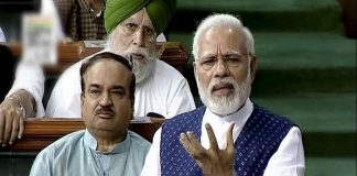 Modi blames Congress for Partition, injustice to Sardar Patel, muzzling democracy