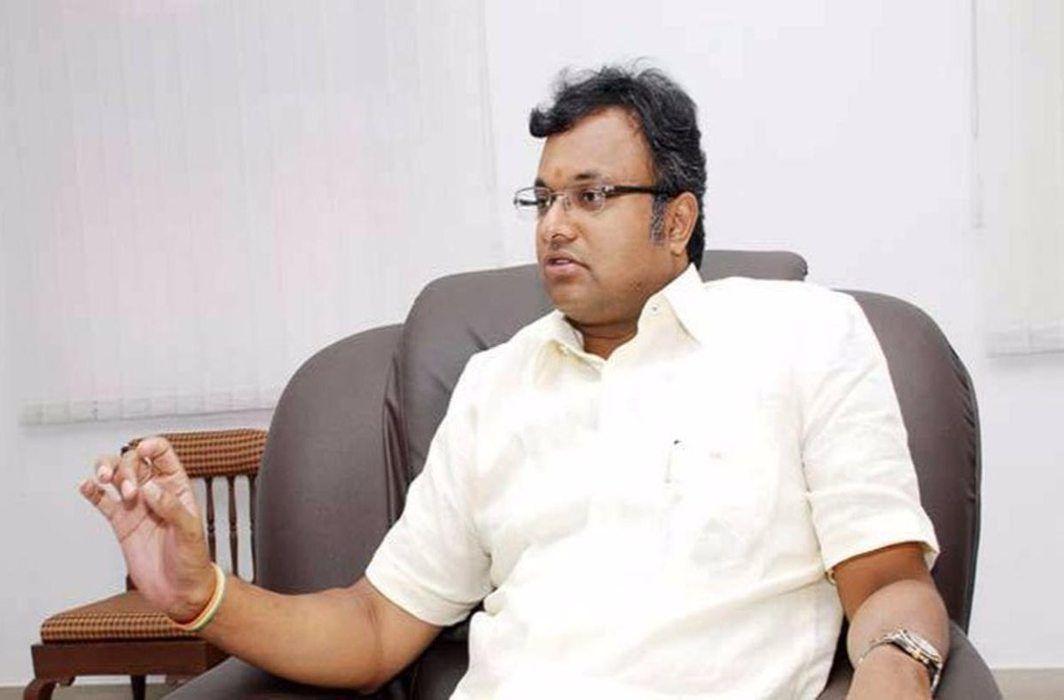 Karti Chidambaram (file picture)