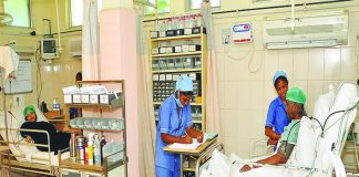 Most patients rely on insurance to meet the high cost of private medical treatment. Photo: adityahospital.co.in