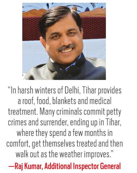 Tihar jail: Foul-weather Inmates