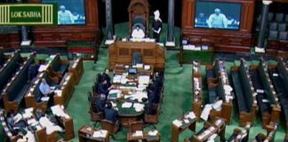 """Lok Sabha adjourned amid uproar over SC judgment on reservation, government says """"no role"""""""