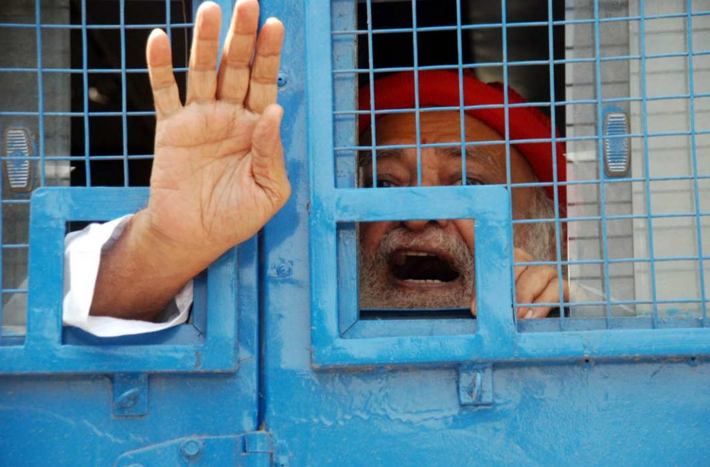 Asaram Bapu gets life sentence, co-conspirators 20 years each for ape of minor
