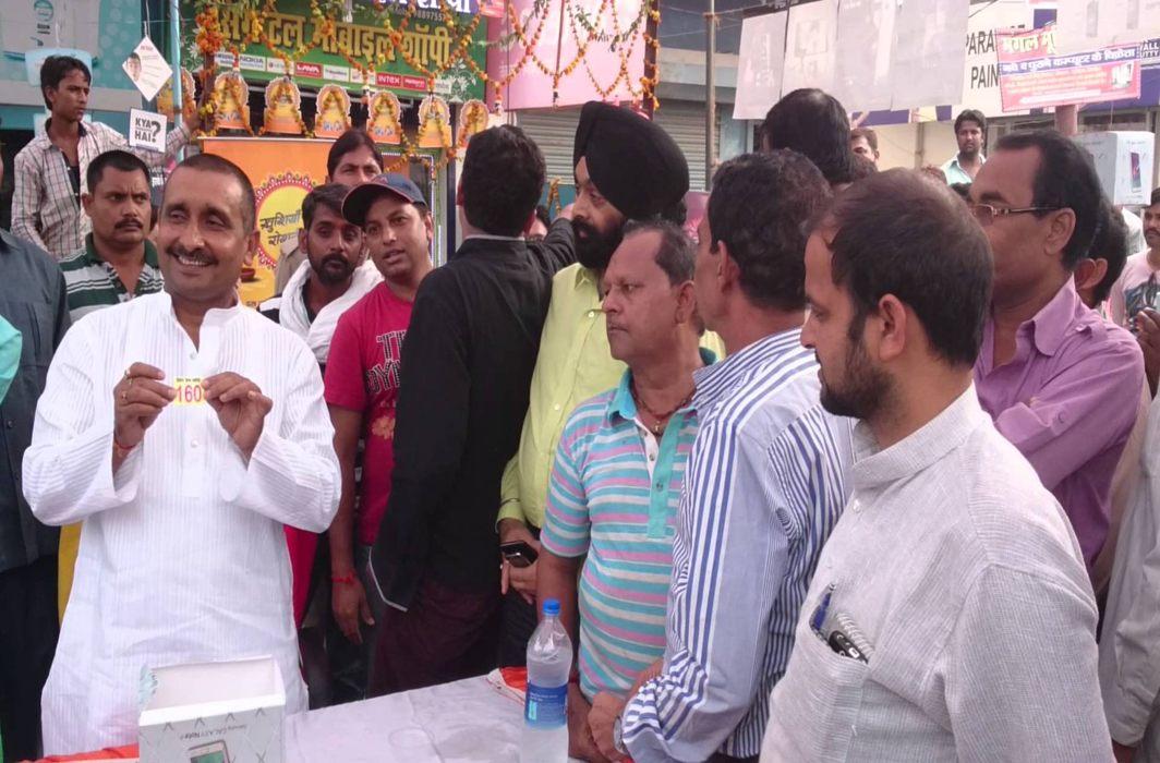 BJP MLA from UP's Bangermau constituency, Kuldeep Singh Sengar; Photo courtesy: Agencies