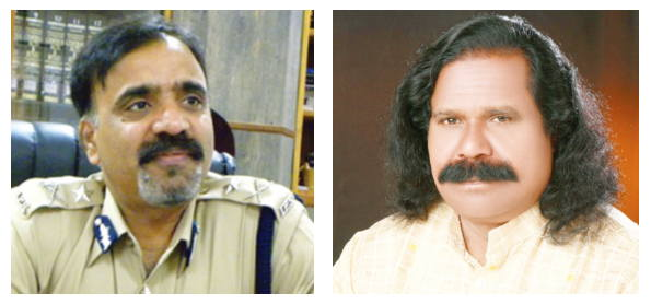 Additional Director General of Police in Chhattisgarh RK Vij; Nand Kumar Sai, chairman of the National Commission for Scheduled Tribes