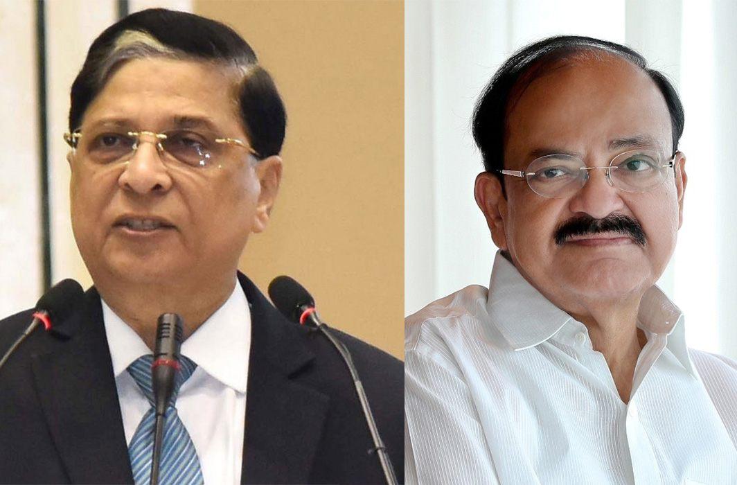 Venkaiah Naidu rejects Opposition's move to impeach CJI Dipak Misra