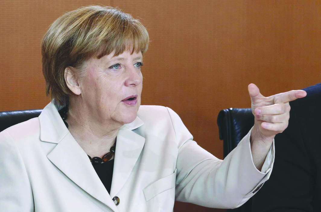 German Chancellor Angela Merkel is another leader contemplating a similar law. Photo: UNI