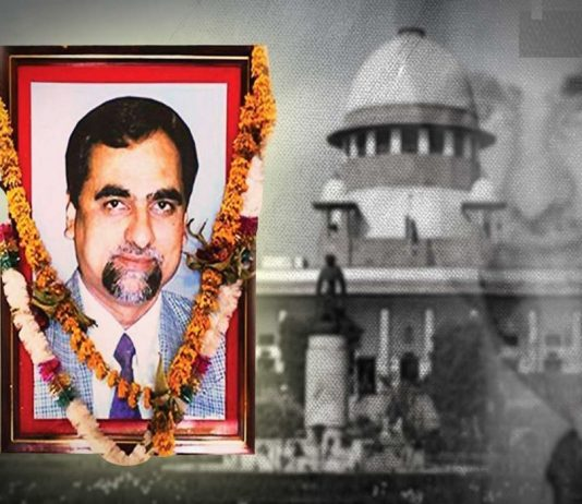 Review petition seeking removal of some of its comments in judge Loya case filed in SC