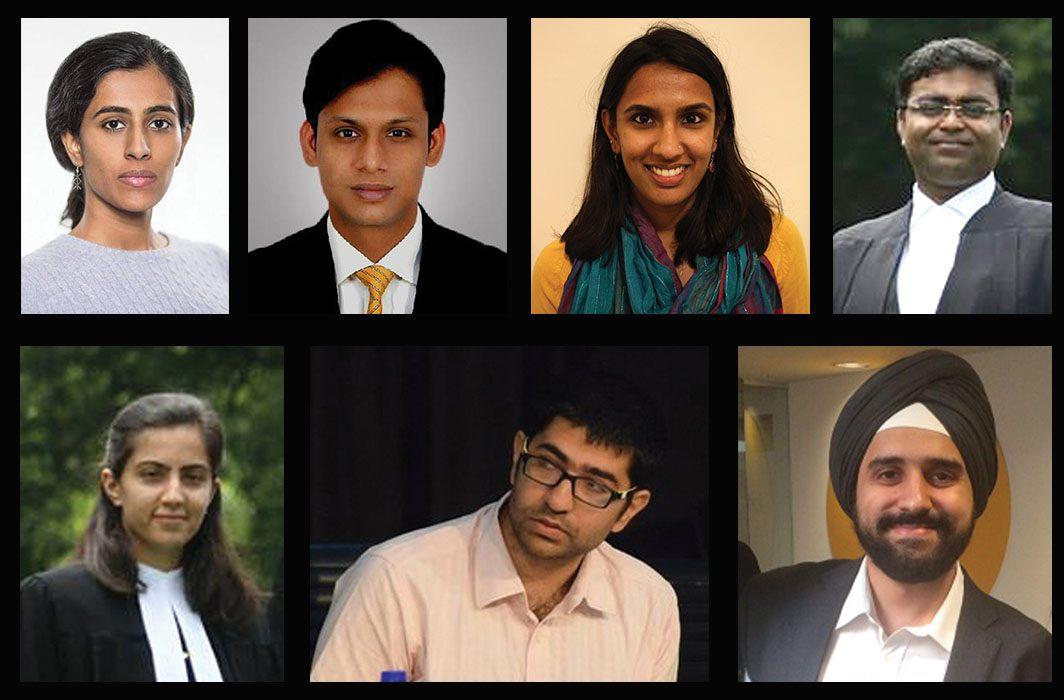 (Clockwise from top left) Ujwala Uppaluri, Apar Gupta, Vrinda Bhandari, Prasanna S, Raman Jit Singh Chima, Gautam Bhatia and Kritika Bhardwaj have tried to develop their own privacy bill, based on the foundation of the Privacy (Protection) Bill, 2013