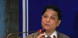 CJI Dipak Misra speaking at the M C Setalvad Memorial Lecture/Photo: ANI