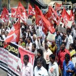 CPI (M) activists lay siege to Raj Bhavan to protest against the TN governor