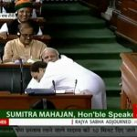 Rahul hugs Modi after slamming govt during the no confidence motion