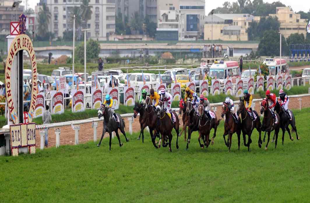 The Kingfisher Bangalore Summer Derby in progress/Photo: UNI