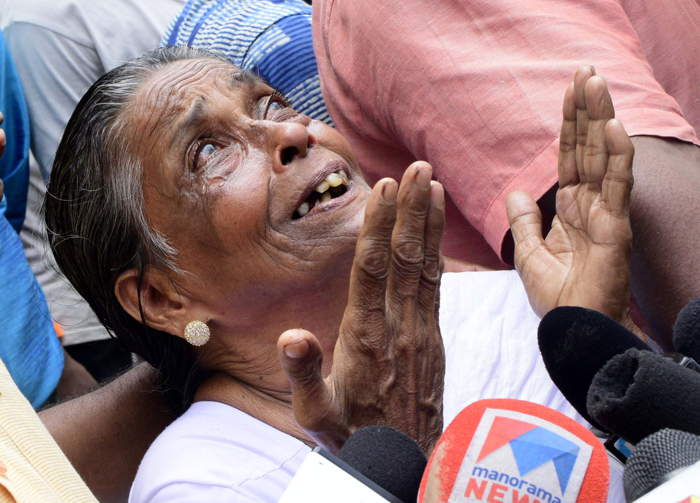 Udayakumar's mother, Prabhavathi, put up a brave fight to wrest justice for her son/Photo: Kaviyoor Santhosh