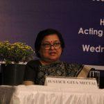 Acting Chief Justice Gita Mittal/Photo: Bhavana Gaur