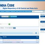 India Code Website: Laws Just a Click Away