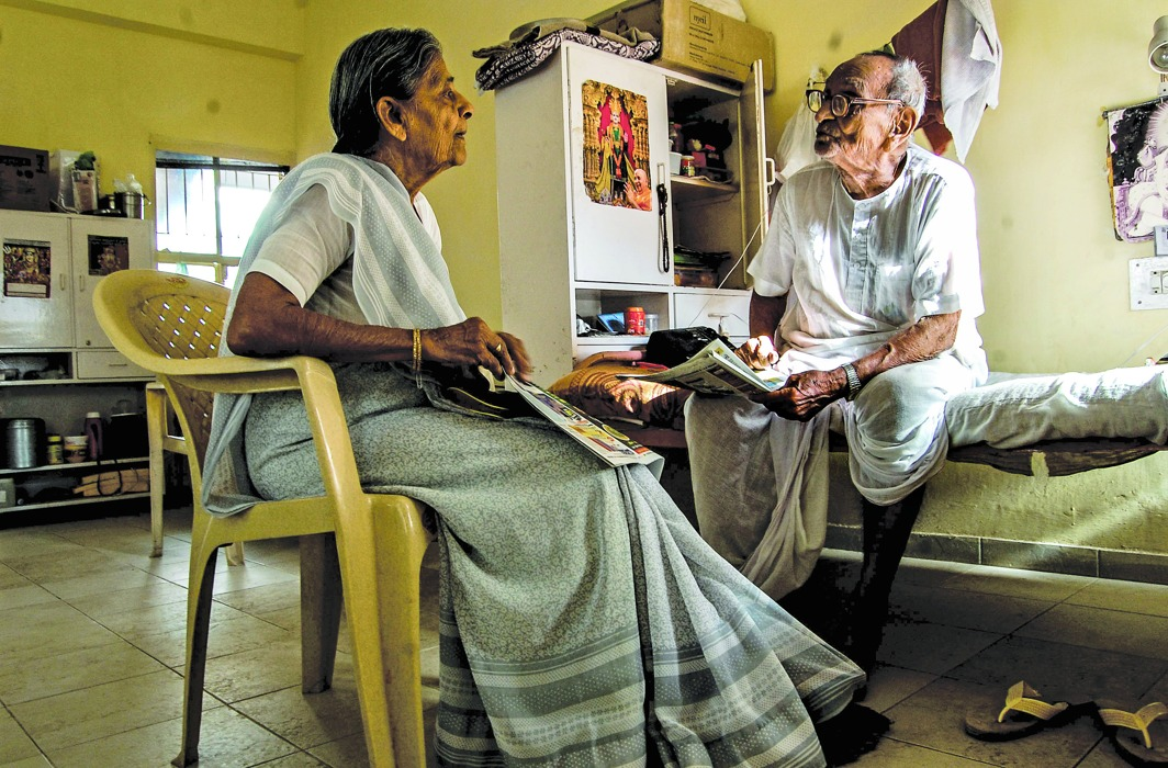 The recent verdict is a boon for senior citizens who are often ill-treated by their children and daughters-in-law/Photo: Fayeza Pathan