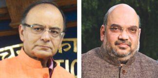 Arun Jaitley and Amit Shah