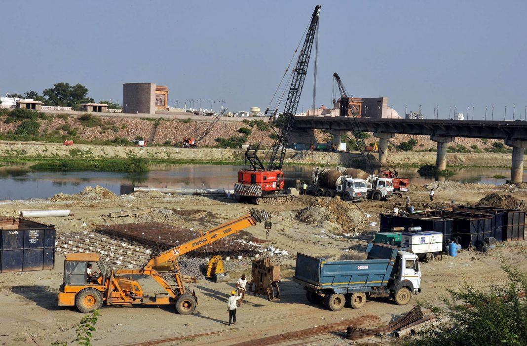 Gomti Riverfront project in Lucknow (file pic)/Photo: UNI